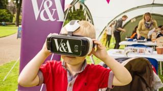 V&A Dundee virtual reality