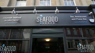 Seafood Shack frontage