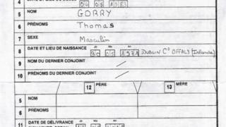 Defunción Thomas.