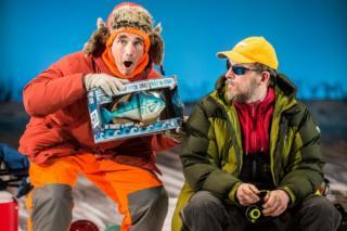 Mark Rylance and Jim Lichtscheidl in Nice Fish