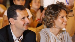 Башар Асад с женой