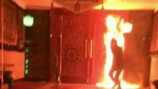 آتش زدن مسجد