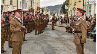 Brecon parade