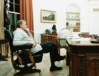 Jimmy Carter in the Oval Office
