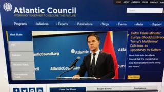 сайт Атлантического совета