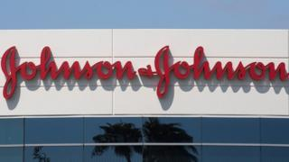 Johnson & Johnson sign