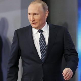 Russian President Vladimir Putin. Photo: 17 December 2015