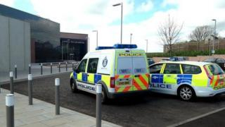 Police at HMP Grampian