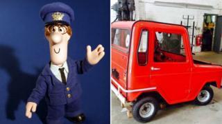 Postman Pat and replica van
