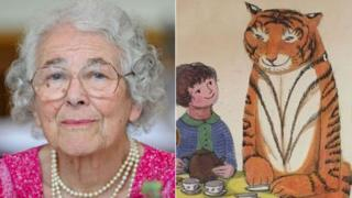 """L'auteure du livre pour enfants """"""""Le Tigre qui s'invita pour le thé"""" (1968) est décédée à l'âge de 95 ans."""