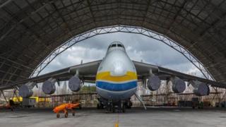 أكبر طائرة في العالم في مهمة جديدة