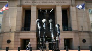 Здание суда в южном Манхэттене