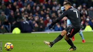 Alexis Sanchez amefunga bao lake la nne msimu huu na kuipa Arsenal ushindi