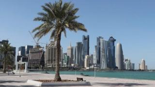 Cảnh thủ đô Doha của Qatar