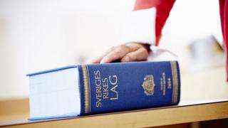 Livro de Direito sueco