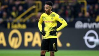 Aubameyang bụ nwaafọ Gabon na-agbara Dortmund bọọlụ