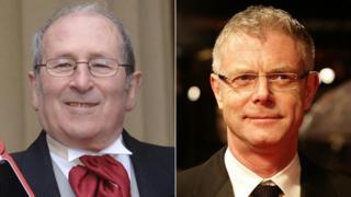 Sir Arnold Wesker and Stephen Daldry
