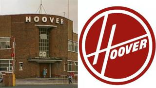 Hoover in Merthyr and logo