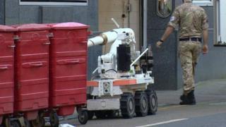 Bomb disposal team
