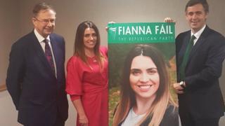 Éamon O'Cuív TD, Sorcha McAnespy and senator Mark Daly