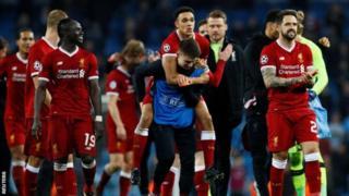 Liverpool ayaa dhagaha ku dhufatay koobka Horyaallada Yurubna ka saartay kooxda Manchester City