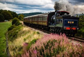 Strathspey steam train