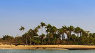 Una isla del archipiélago de Bijagos