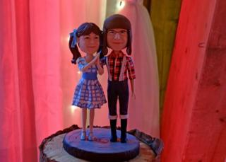 I'm a lumberjack cake toppers