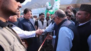 عمران خان در تورخم