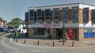 Tesco Express in Burnham