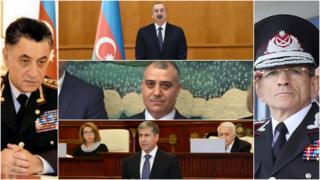 İlham Əliyev, Ramil Usubov, Əli Nağıyev, Vilayət Eyvazov