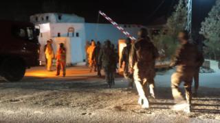 Operación de seguridad en Quetta