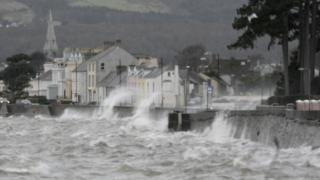 Storm Frank hits Northern Ireland in December 2015