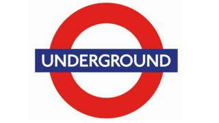 London Underground roundel with new font