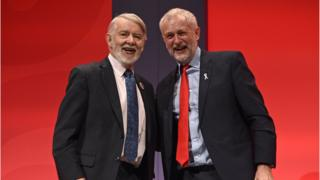 Paul Flynn and Jeremy Corbyn