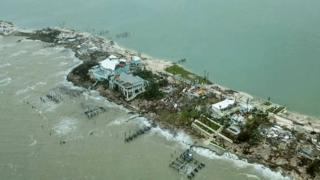 Devastation on the Abaco Islands