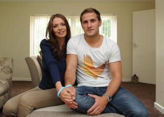 Billy Sharp and his partner Jade Fair
