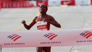 Brigid Kosgei impone un nuevo récord