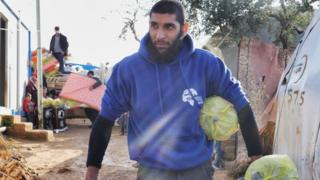 Tauqir Sharif, has been working as an aid worker in Syria since 2012.
