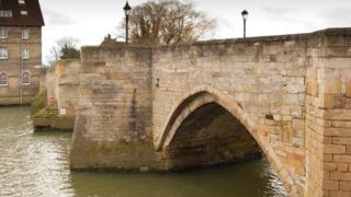 River bridge between Huntingdon and Godmanchester