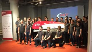 MIT Hyperloop team