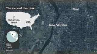 in_pictures Map of Idaho Falls