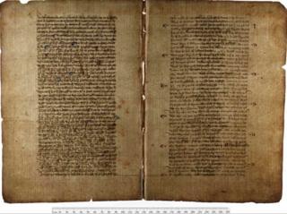 Medieval manuscript.