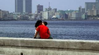 Пара в Гаване