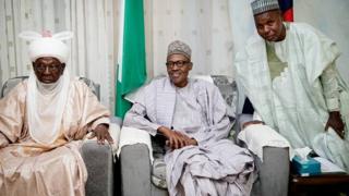 Aminu Masari and Buhari