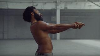 A still from the Childish Gambino video