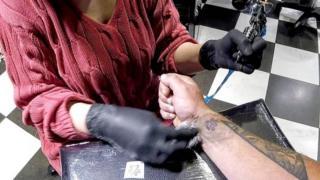 tetovaža šape