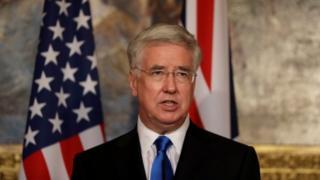 Міністр оборони Британії Майкл Феллон