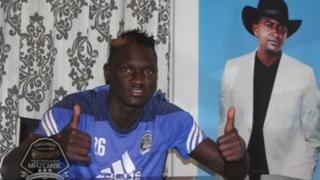 L'Ougandais Ochaya au TP Mazembé