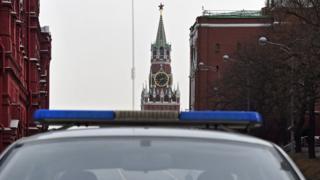 Полиция у Кремля